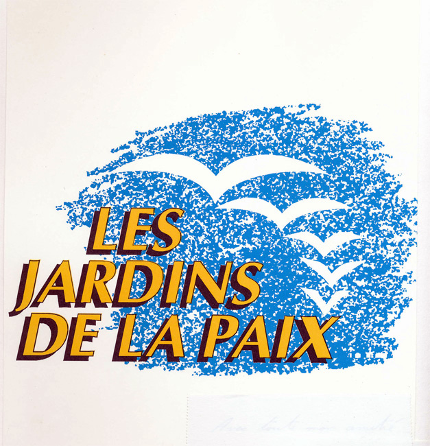 Les Jardins de la Paix. Confrérie des Jardiniers. Delémont.