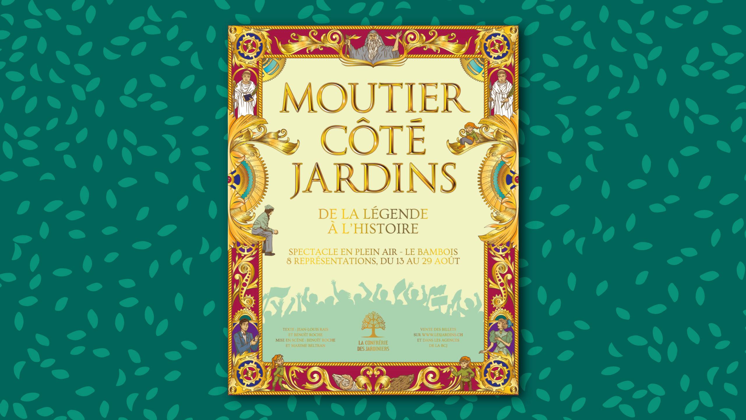 «Moutier côté Jardins, de la légende à l'histoire», nouveau spectacle de la Confrérie des Jardiniers